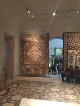 Sala de los mosaicos.